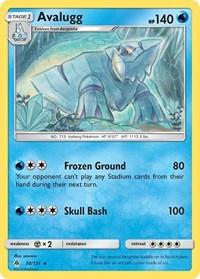 Avalugg, Pokemon, SM - Forbidden Light