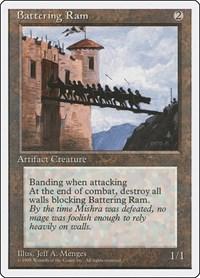 Battering Ram, Magic: The Gathering, Fourth Edition