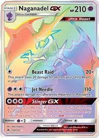 Naganadel GX (Secret), Pokemon, SM - Forbidden Light