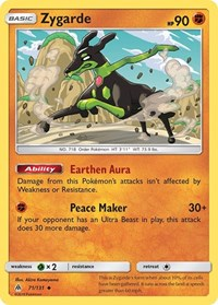 Zygarde (71), Pokemon, SM - Forbidden Light