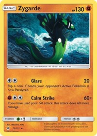 Zygarde (72), Pokemon, SM - Forbidden Light
