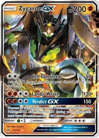 Zygarde GX, Pokemon, SM - Forbidden Light