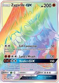 Zygarde GX (Secret), Pokemon, SM - Forbidden Light