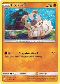 Rockruff, Pokemon, SM - Forbidden Light