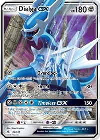 Dialga GX, Pokemon, SM - Forbidden Light