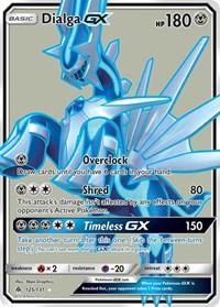 Dialga GX (Full Art), Pokemon, SM - Forbidden Light