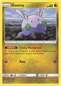 Goomy (91), Pokemon, SM - Forbidden Light