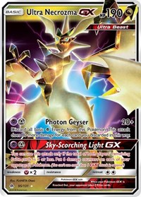 Ultra Necrozma GX, Pokemon, SM - Forbidden Light