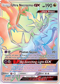 Ultra Necrozma GX (Secret), Pokemon, SM - Forbidden Light