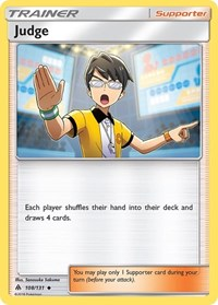 Judge, Pokemon, SM - Forbidden Light