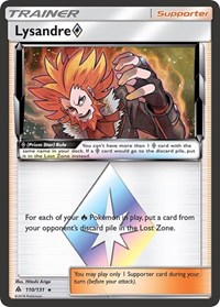 Lysandre Prism Star, Pokemon, SM - Forbidden Light