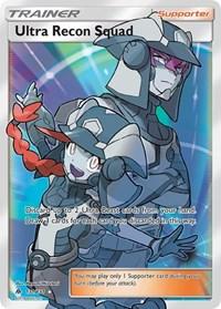 Ultra Recon Squad (Full Art), Pokemon, SM - Forbidden Light