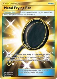 Metal Frying Pan (Secret), Pokemon, SM - Forbidden Light