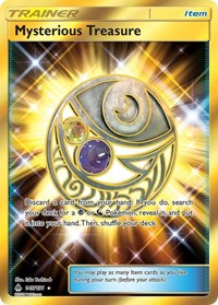 Mysterious Treasure (Secret), Pokemon, SM - Forbidden Light