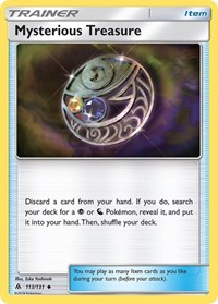 Mysterious Treasure, Pokemon, SM - Forbidden Light
