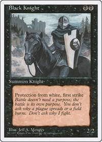 Black Knight, Magic: The Gathering, Fourth Edition