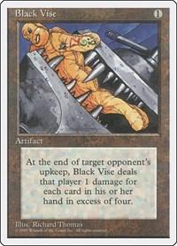 Black Vise, Magic: The Gathering, Fourth Edition
