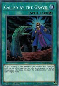 Called by the Grave, YuGiOh, Flames of Destruction