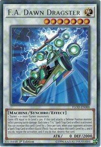 F.A. Dawn Dragster, YuGiOh, Flames of Destruction