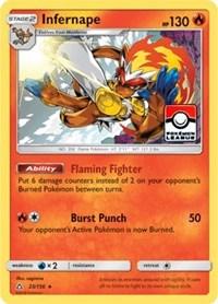 Infernape - 23/156 (League Promo), Pokemon, League & Championship Cards