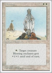 Blessing, Magic: The Gathering, Fourth Edition