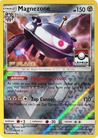 Magnezone - 83/156 (League Promo) [1st Place], Pokemon, League & Championship Cards