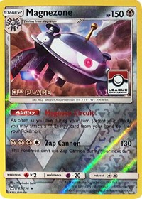Magnezone - 83/156 (League Promo) [3rd Place], Pokemon, League & Championship Cards