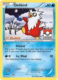 Delibird - 38/149 (League Promo) [1st Place], Pokemon, League & Championship Cards
