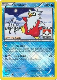 Delibird - 38/149 (League Promo) [3rd Place], Pokemon, League & Championship Cards