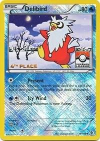 Delibird - 38/149 (League Promo) [4th Place], Pokemon, League & Championship Cards