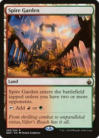 Spire Garden, Magic, Battlebond