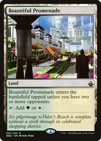 Bountiful Promenade, Magic: The Gathering, Battlebond
