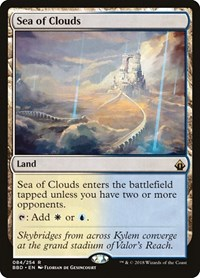 Sea of Clouds, Magic: The Gathering, Battlebond