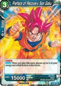 Preface of Recovery Son Goku Dragon Ball Super Promo