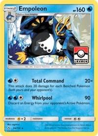 Empoleon - 34/156 (League Promo), Pokemon, League & Championship Cards