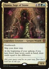 Damia, Sage of Stone, Magic, Commander Anthology Volume II