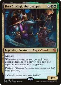 Ikra Shidiqi, the Usurper, Magic: The Gathering, Commander Anthology Volume II