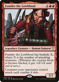Fumiko the Lowblood, Magic: The Gathering, Commander Anthology Volume II