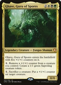 Ghave, Guru of Spores, Magic: The Gathering, Commander Anthology Volume II