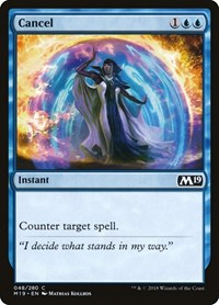 Cancel, Magic: The Gathering, Core Set 2019