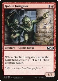 Goblin Instigator, Magic, Core Set 2019