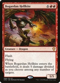 Bogardan Hellkite, Magic: The Gathering, Commander Anthology Volume II