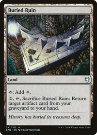 Buried Ruin, Magic: The Gathering, Commander Anthology Volume II