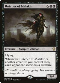Butcher of Malakir, Magic: The Gathering, Commander Anthology Volume II