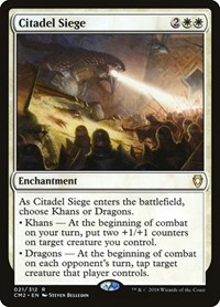 Citadel Siege, Magic: The Gathering, Commander Anthology Volume II