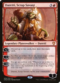 Daretti, Scrap Savant, Magic: The Gathering, Commander Anthology Volume II