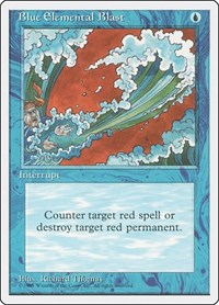Blue Elemental Blast, Magic: The Gathering, Fourth Edition