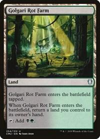Golgari Rot Farm, Magic: The Gathering, Commander Anthology Volume II