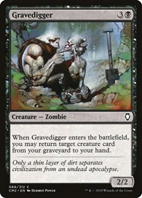 Gravedigger, Magic: The Gathering, Commander Anthology Volume II
