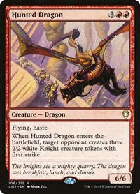 Hunted Dragon, Magic: The Gathering, Commander Anthology Volume II